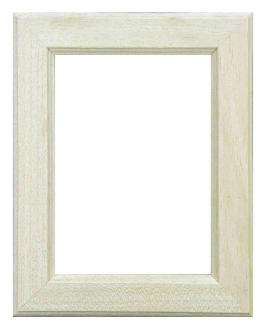 Bilderrahmen aus Holz, Klosterarbeiten, Farbe Natur