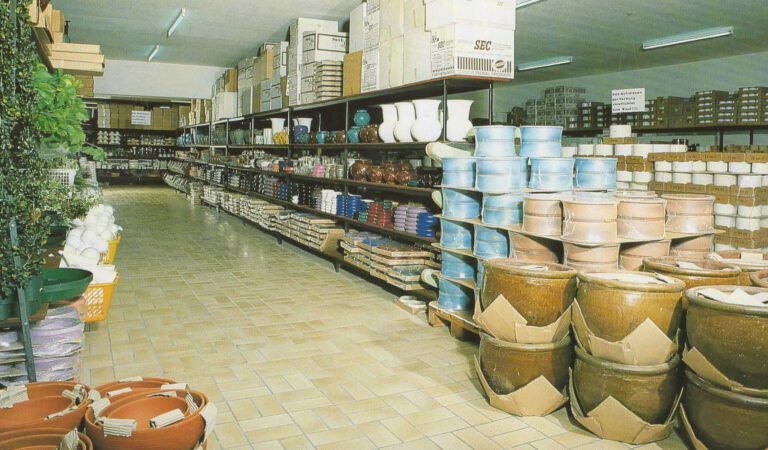 Neues Firmengebäude der Mathias Schmidt GmbH im Jahre 1988