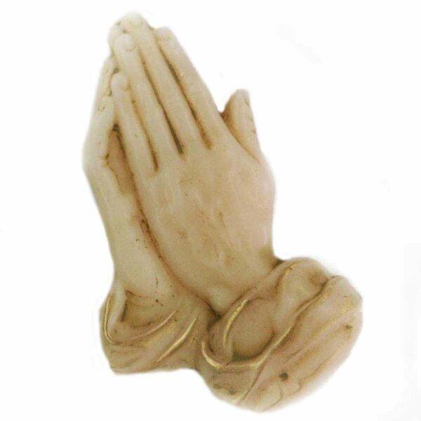 Bettende Hände aus Wachs für Klosterarbeiten