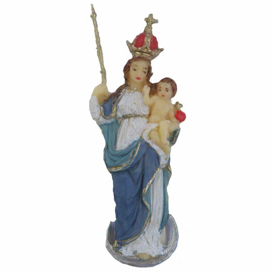 Madonna Patrona Bavaria mit Zepter in Wachs