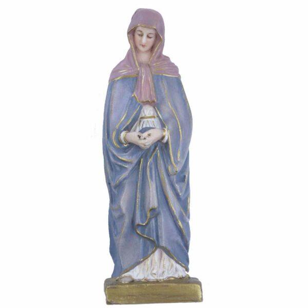 Madonna Hl.Magdalena aus Statue in handbemaltem Wachs