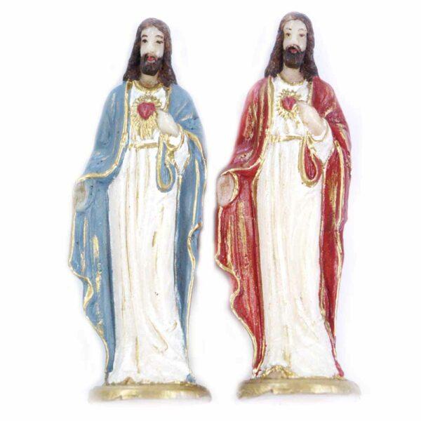 Herz-Jesu in Wachs für Klosterarbeiten