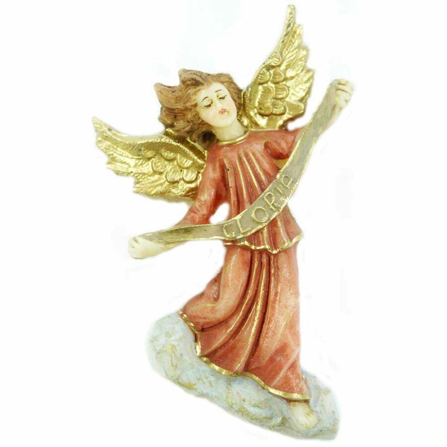 Verkündigungs-Engel auf Wolke in Wachs für Klosterarbeiten