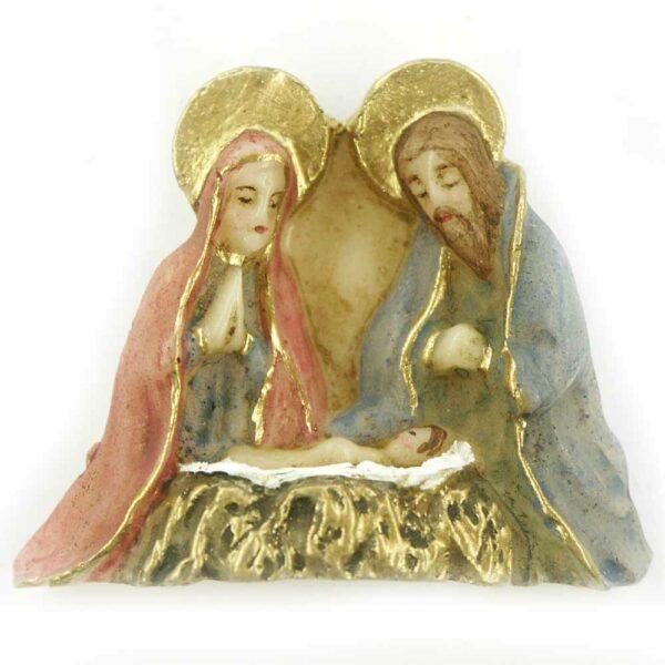 Hl.Familie mit Jesukind in Wachs für Klosterarbeiten