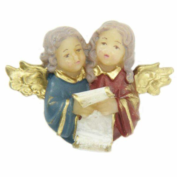 Engelchor singend, Notenblatt Wachs für Klosterarbeiten