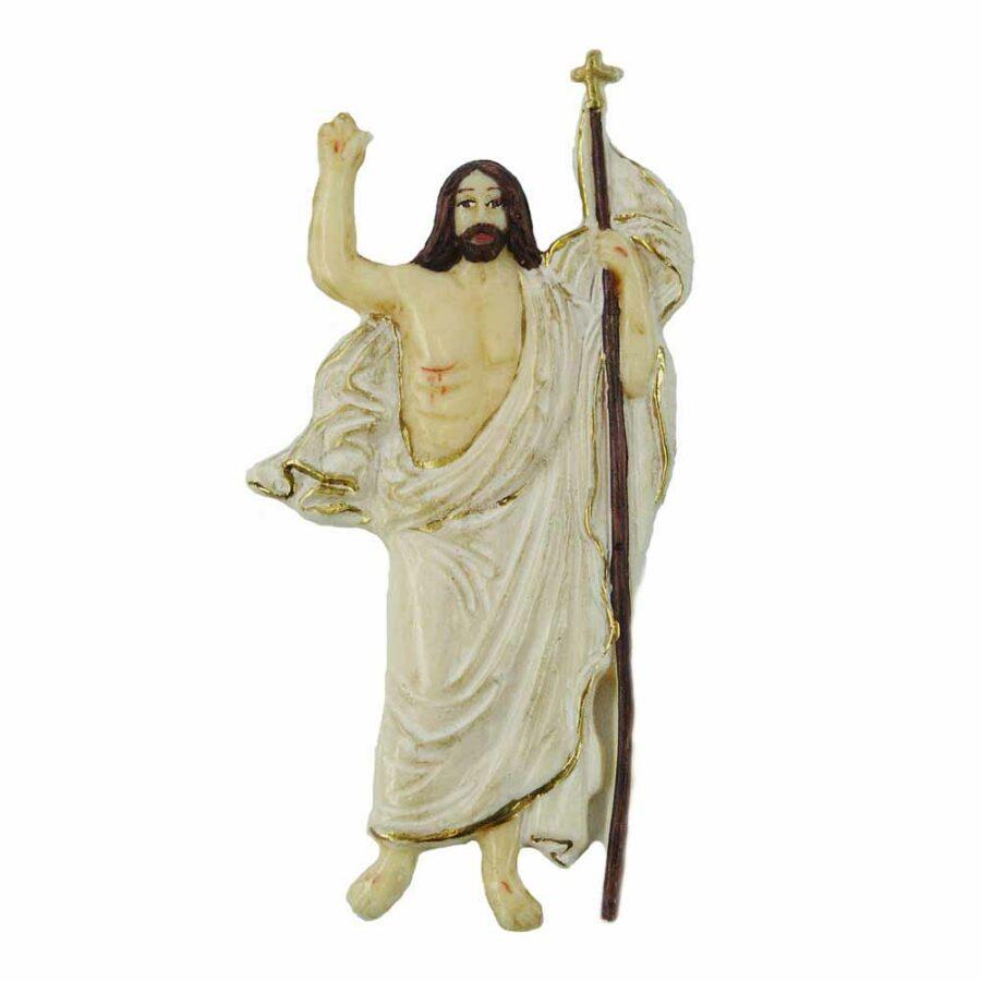 Auferstandener in Wachs für Klosterarbeiten