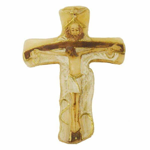 Wachskreuz mit Dreifaltigkeit für Klosterarbeiten
