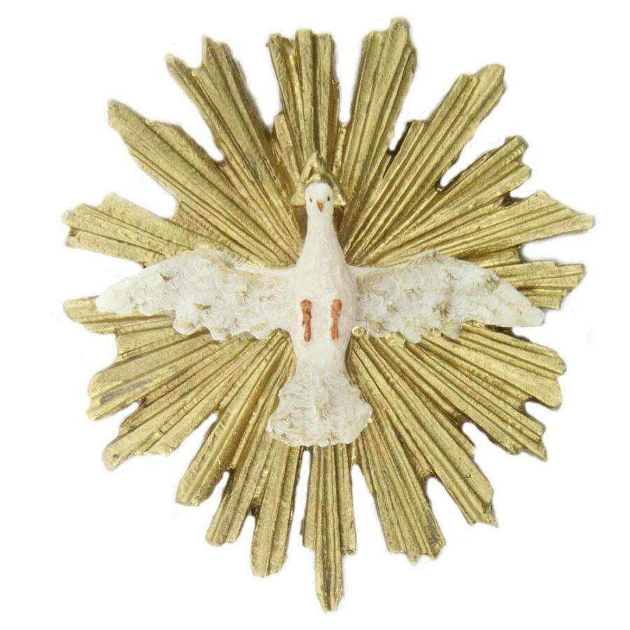 Hl. Geist in runder Form aus Wachs für Klosterarbeiten