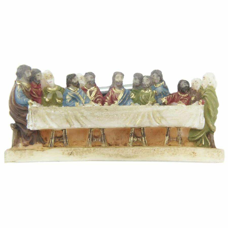 Letztes Abendmahl in handbemaltem Wachs