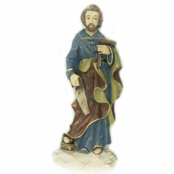 Josef als Handwerker aus Wachs für Klosterarbeiten
