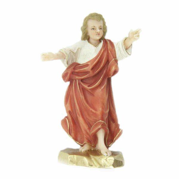 Jesulein als Statue in Wachs handbemalt