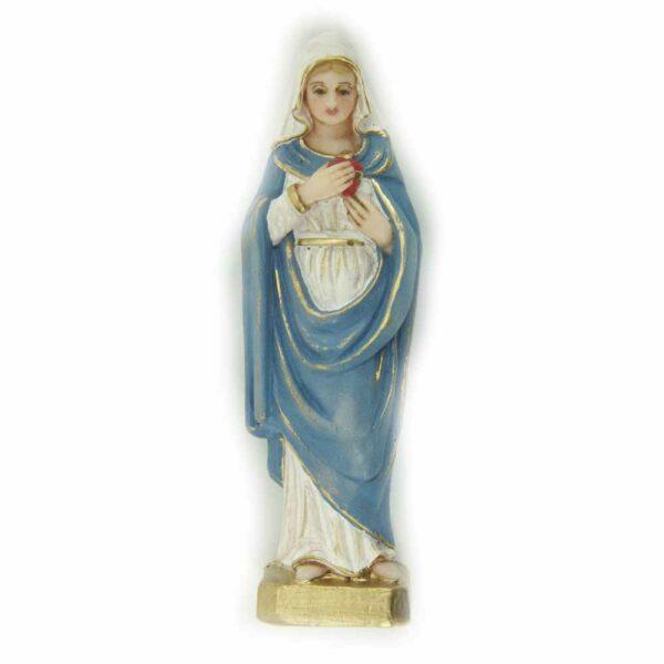 Herz Maria als Statue in Wachs handbemalt