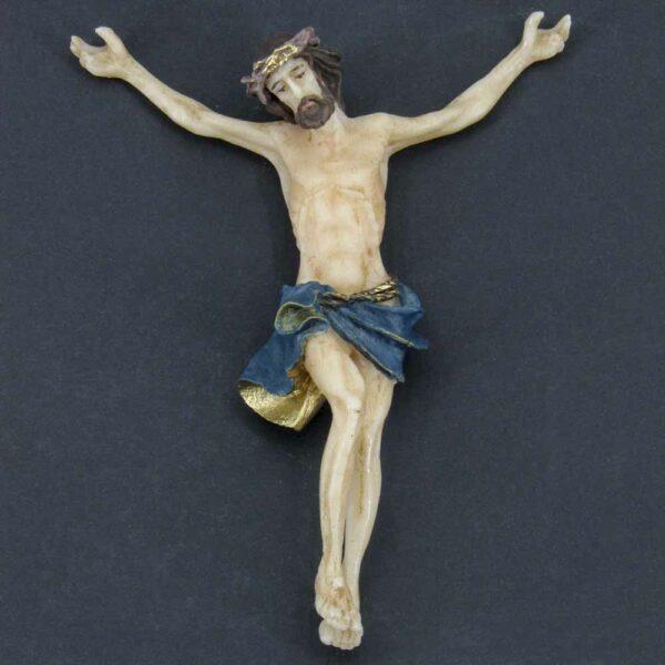 Christus als Korpus aus Wachs für Klosterarbeiten