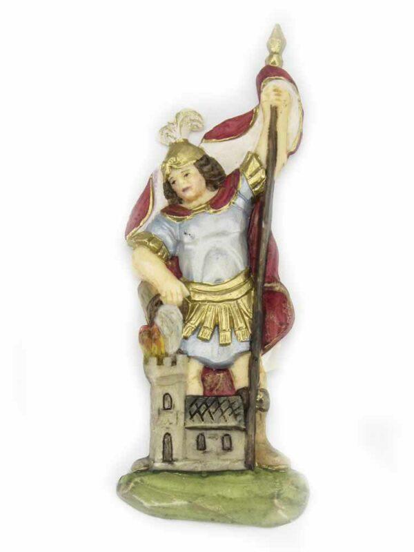 Hl. Florian in Wachs für Klosterarbeiten