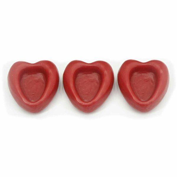 rotes Wachsherz mit Vertiefung für Madonna Nr. 31000480