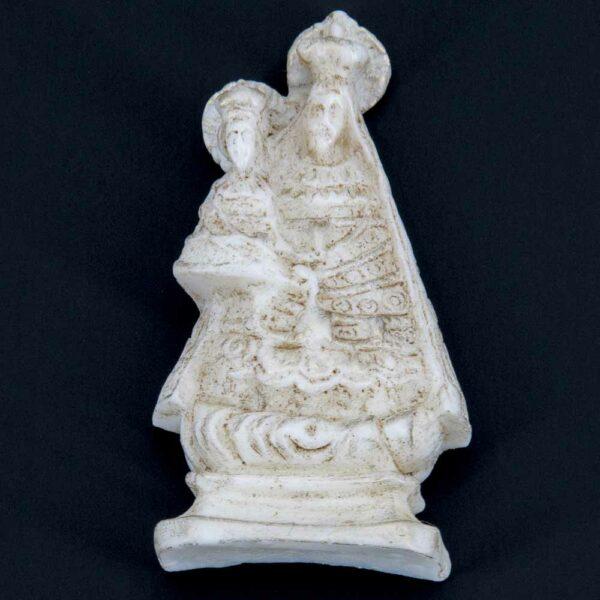 Altöttinger Madonna in patiniert aus Wachs für Klosterarbeiten