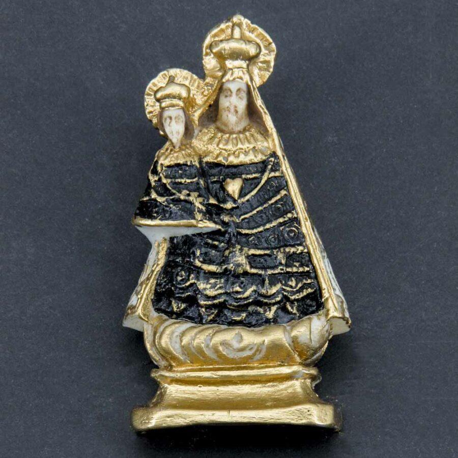 Altöttinger Madonna aus Wachs handbemalt für Klosterarbeiten