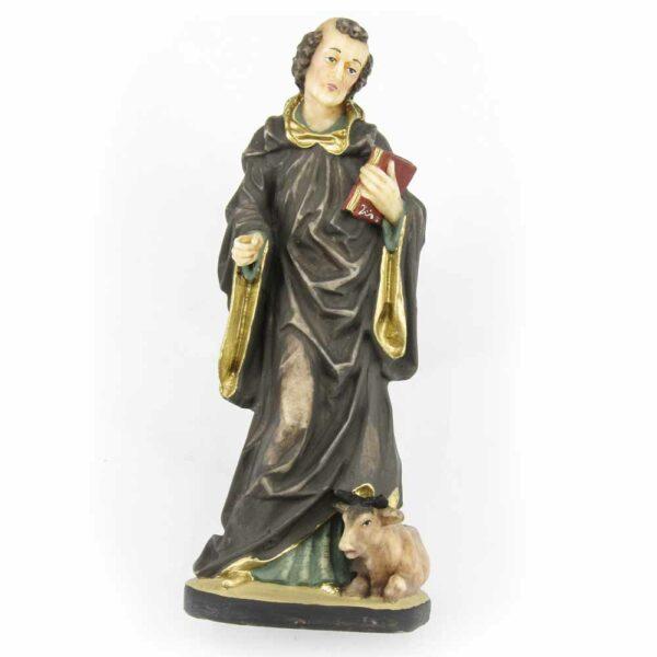 Hl. Leonhard als Statue in Wachs für Klosterarbeiten