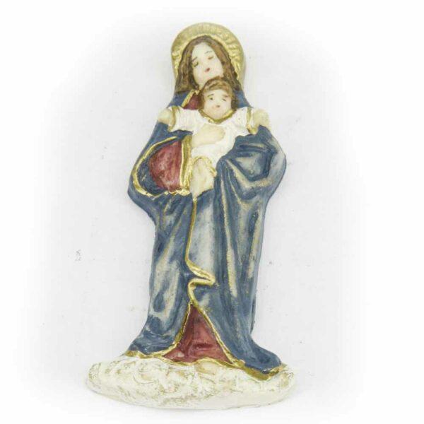 Madonna mit Kind aus Wachs für Klosterarbeiten