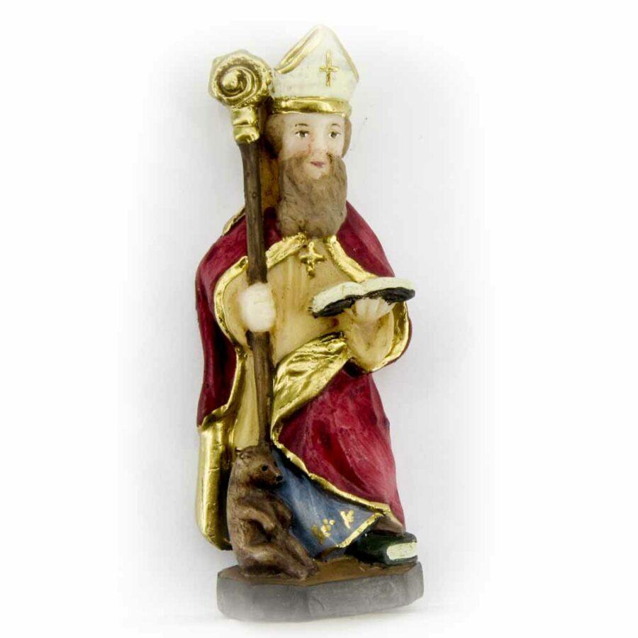 Hl. Korbinian aus Wachs für Klosterarbeiten