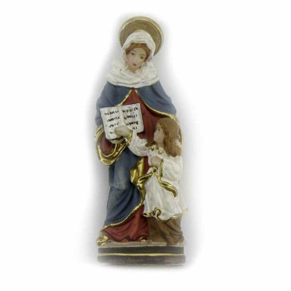 Hl. Anna als Statue aus Wachs