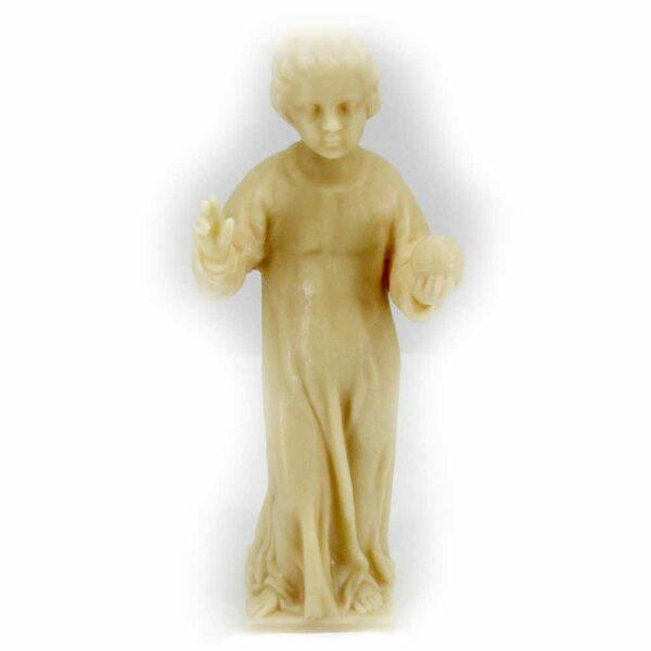 Prager-Jesulein als Wachsfigur zum einkleiden