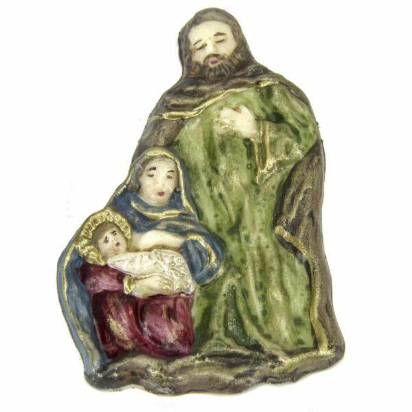 Hl. Familie aus Wachs für Klosterarbeiten
