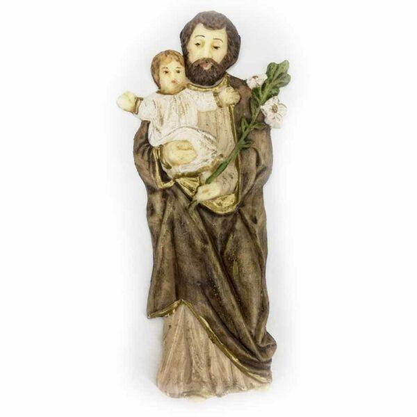 Hl. Antonius, flache Wachsfigur für Klosterarbeiten