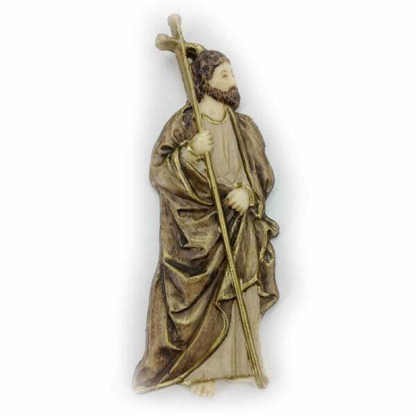 Hl. Philipus als flache Wachsfigur für Klosterarbeiten