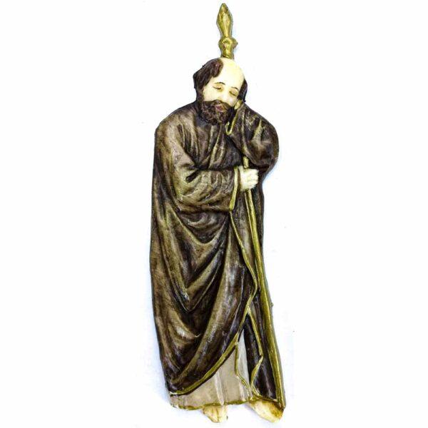 Wachsfigur Thadäus, handbemalt für Klosterarbeiten,