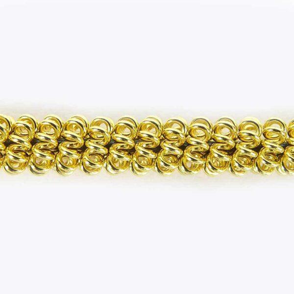 Krausspirale vergoldet für Klosterarbeiten