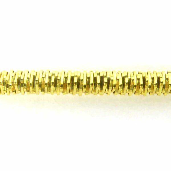 Bouillon in vergoldet mit glanzkrauser Oberfläche für Klosterarbeiten