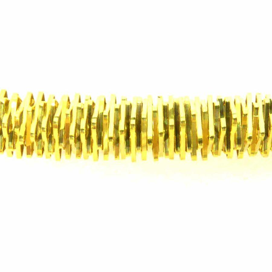 Bouillon vergoldet in glanzkrauser Oberfläche für Klosterarbeiten