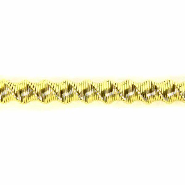 Bouillon in vergoldet mit mattkrauser Oberfläche für Klosterarbeiten