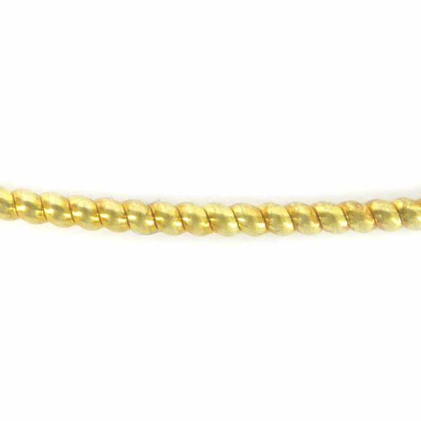 Perldraht in vergoldet mit einem Durchmesser von 1,1mm für Klosterarbeiten