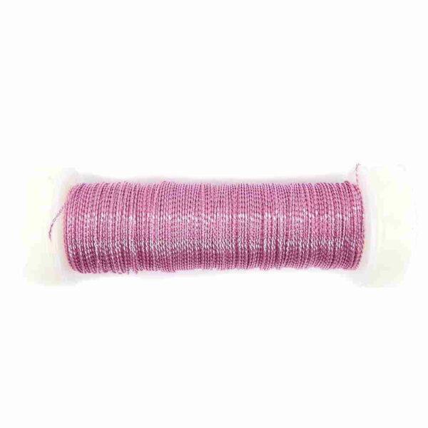 Cordonett in rosa für Klosterarbeiten