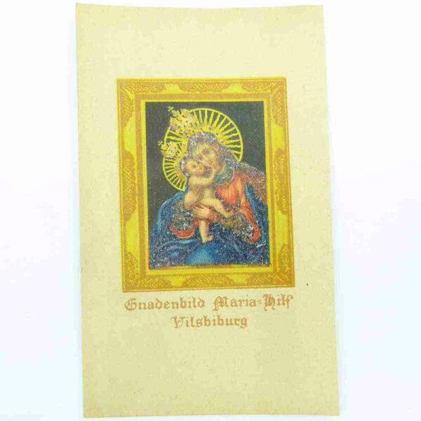 Heiigenbilder in Papier mit antikem Steindruck für Klosterarbeiten
