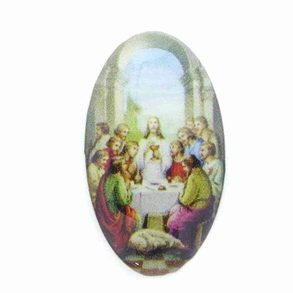Heiligenbild aus Kunststoff mit letztem Abendmahl für klosterarbeiten