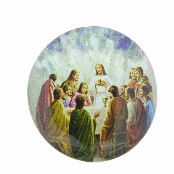 Heiligenbild aus Kunststoff mit dem Abendmahl für Klosterarbeiten