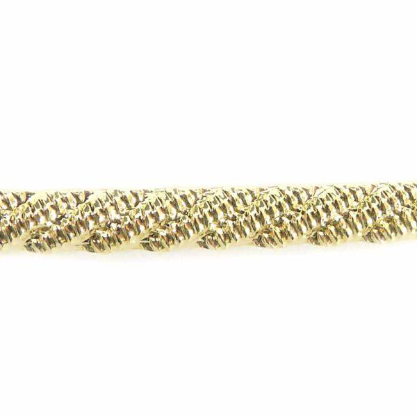 Draht mit Muster in gold zur Stabilisierung von Klosterarbeiten