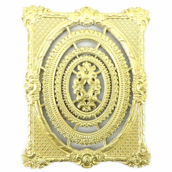Papierrahmen in gold im Set für Klosterarbeiten