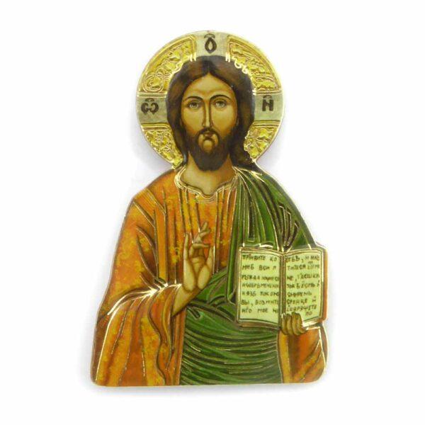 Bildtafel aus Holz mit dem Motiv Christus für Klosterarbeiten