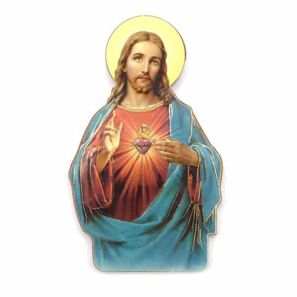 Bildtafel aus Holz mit Herz Jesu für Klosterarbeiten