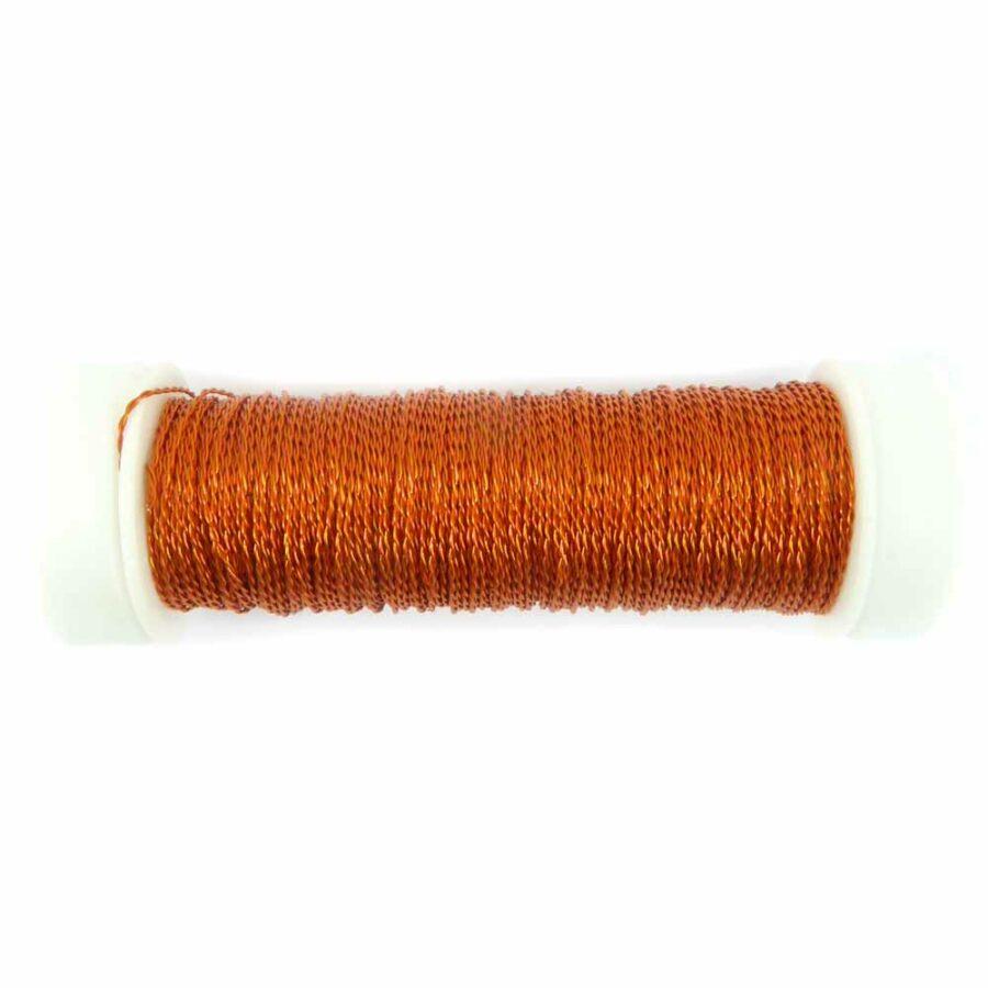 Cordonett in orange für Klosterarbeiten