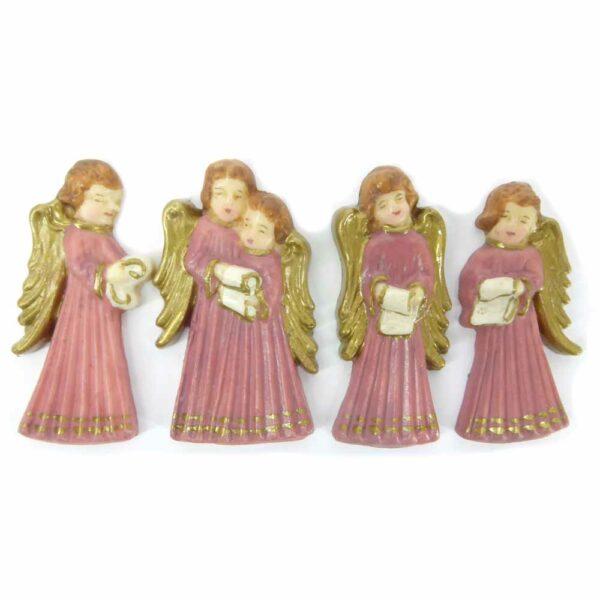 Engelset in Wachs für Klosterarbeiten oder Kerzen