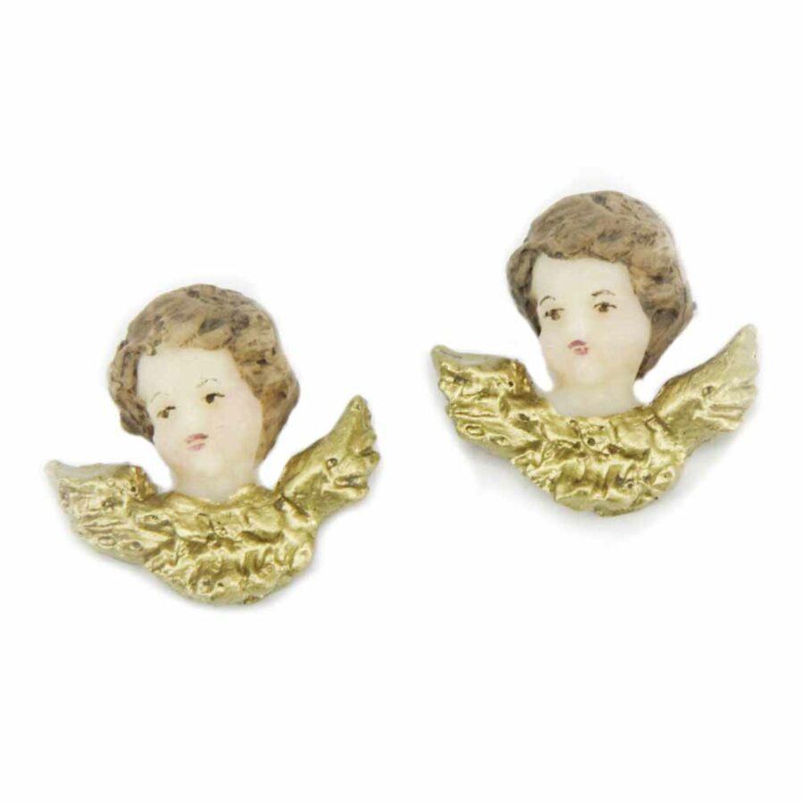 Engel mit Flügel aus Wachs für Klosterarbeiten