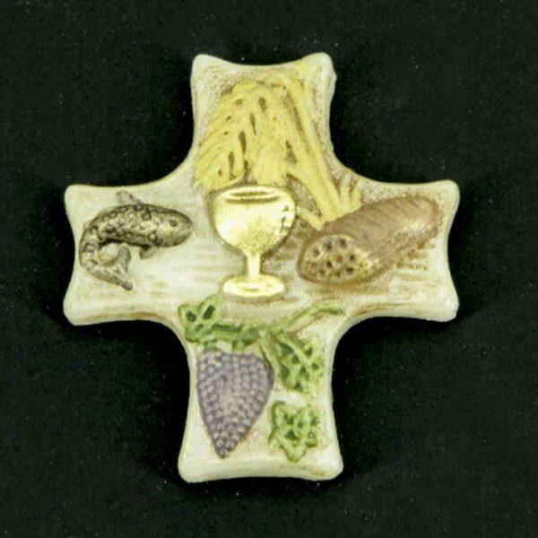 Brotsegen klein aus Wachs für Klosterarbeiten