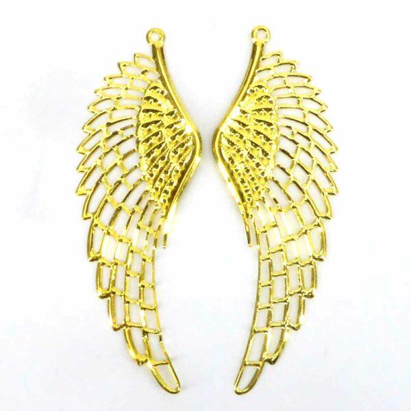 Engelflügel aus Metall in gold für Klosterarbeiten