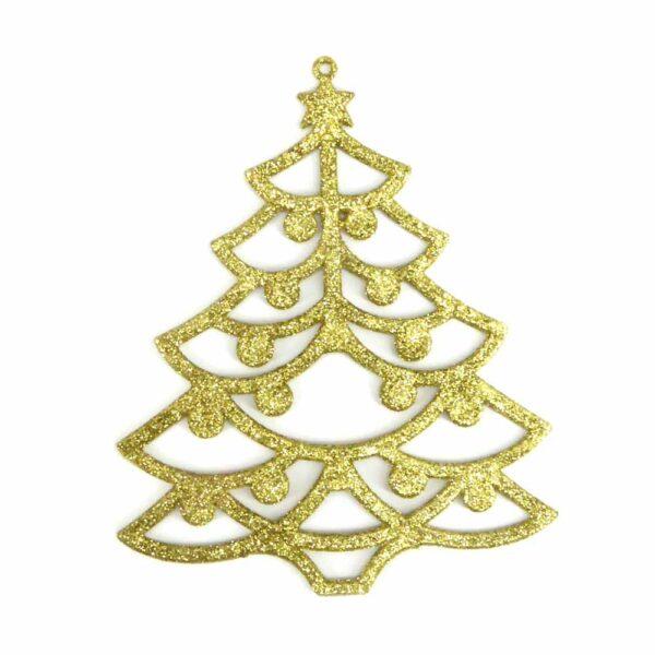 Weihnachtsbaum aus Kunststoff für Klosterarbeiten