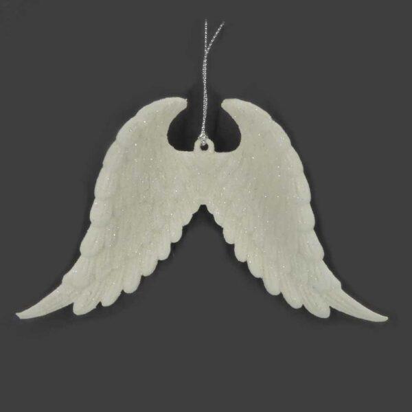 Engelflügel aus Kunststoff in weiss für Klosterarbeiten